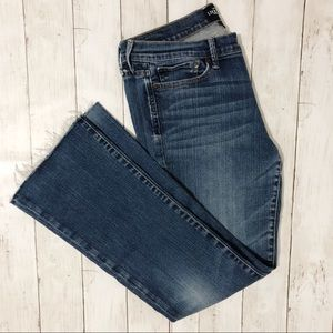 Lucky Brand Jeans - LUCKY BRAND JEANS Sweet n Low Raw Hem Bootcut P6
